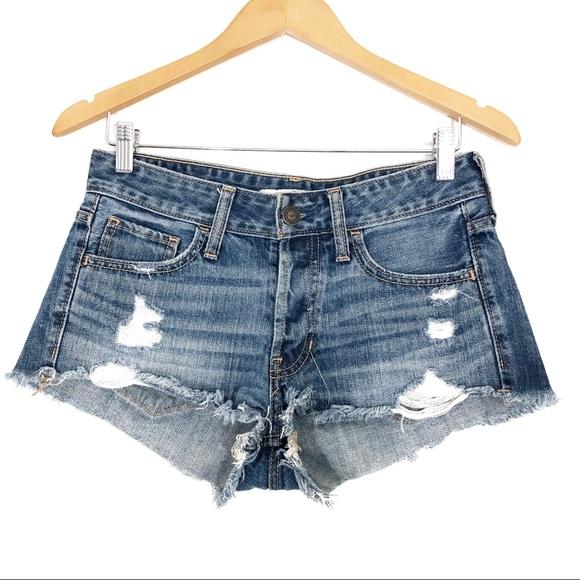 Hollister Pants - Hollister | Distressed Shortie Shorts